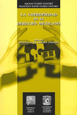 COPROPIEDAD EN EL DERECHO MEXICANO, LA