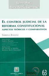 CONTROL JUDICIAL DE LA REFORMA CONSTITUCIONAL EL