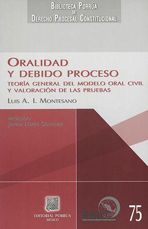 ORALIDAD Y DEBIDO PROCESO