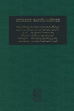 INTRODUCCIÓN AL ESTUDIO DEL DERECHO - 65ª ED. 6ª REIMP.