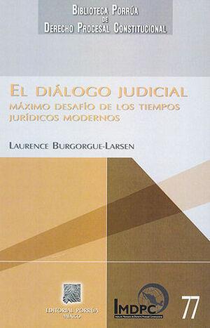 DIÁLOGO JUDICIAL, EL