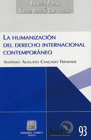HUMANIZACIÓN DEL DERECHO INTERNACIONAL CONTEMPORÁNEO, LA