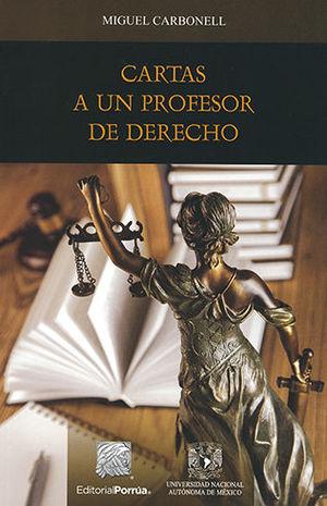 CARTAS A UN PROFESOR DE DERECHO - 1ª ED. 2014 2ª REIMP. 2015