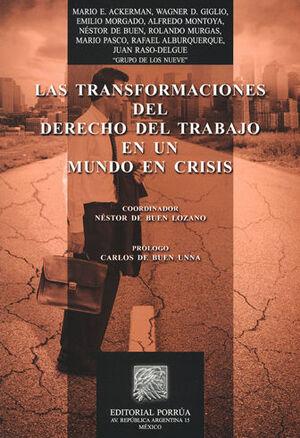 TRANSFORMACIONES DEL DERECHO DEL TRABAJO EN UN MUNDO DE CRISIS, LAS