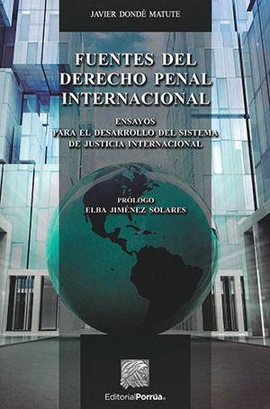 FUENTES DEL DERECHO PENAL INTERNACIONAL