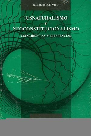 IUSNATURALISMO Y NEOCONSTITUCIONALISMO