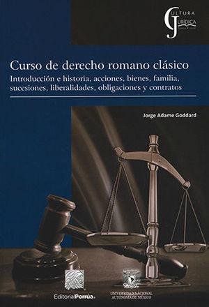 CURSO DE DERECHO ROMANO CLÁSICO (SEGUNDA EDICIÓN)