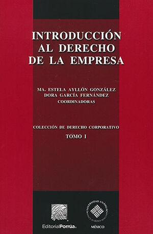 INTRODUCCIÓN AL DERECHO DE LA EMPRESA - 2ª ED.