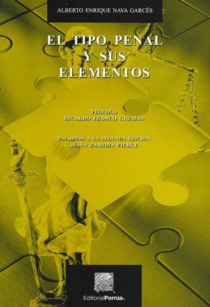 TIPO PENAL Y SUS ELEMENTOS, EL