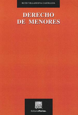 DERECHO DE MENORES - 2ª ED. 2018