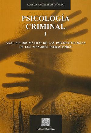 PSICOLOGÍA CRIMINAL I