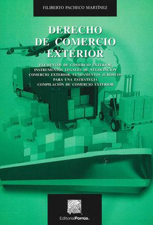 DERECHO DE COMERCIO EXTERIOR