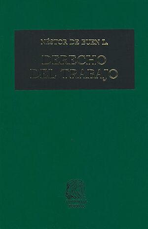 DERECHO DEL TRABAJO - TOMO I 22ª ED.