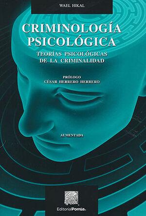 CRIMINOLOGÍA PSICOLÓGICA - 3.ª ED.