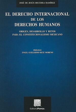 DERECHO INTERNACIONAL DE LOS DERECHOS HUMANOS, EL