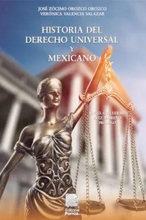 HISTORIA DEL DERECHO UNIVERSAL Y MEXICANO