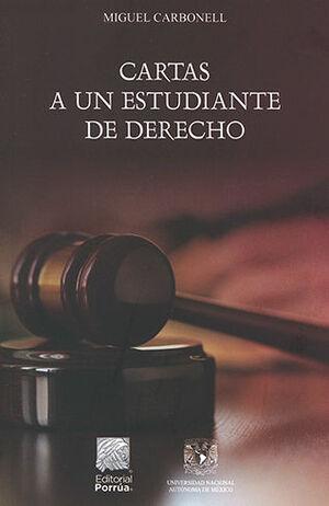 CARTAS A UN ESTUDIANTE DE DERECHO. 2ª ED. 2021.