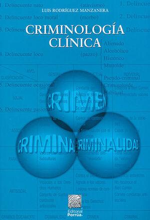CRIMINOLOGÍA CLÍNICA - 11.ª ED. 2021