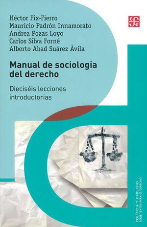 MANUAL DE SOCIOLOGÍA DEL DERECHO