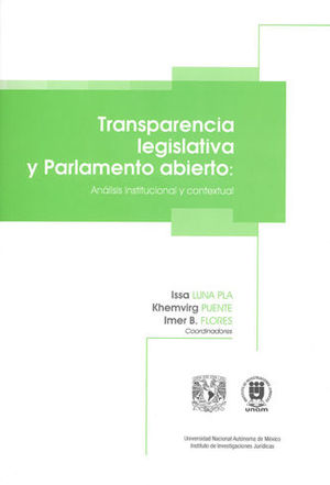 TRANSPARENCIA LEGISLATIVA Y PARLAMENTO ABIERTO: