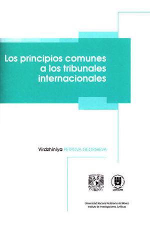 PRINCIPIOS COMUNES A LOS TRIBUNALES INTERNACIONALES, LOS