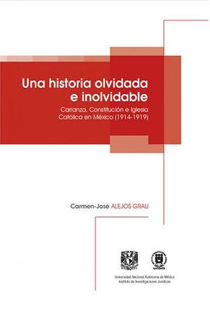 UNA HISTORIA OLVIDADA E INOLVIDABLE