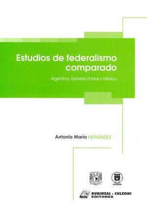 ESTUDIOS DE FEDERALISMO COMPARADO
