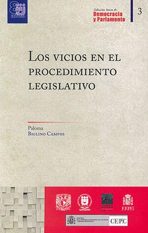 VICIOS EN EL PROCEDIMIENTO LEGISLATIVO, LOS