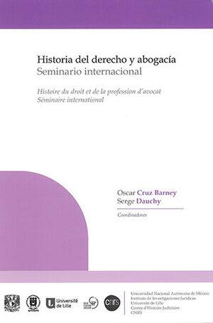 HISTORIA DEL DERECHO Y ABOGACÍA