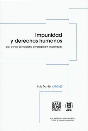 IMPUNIDAD Y DERECHOS HUMANOS