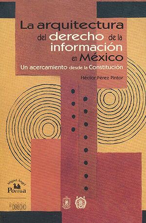 ARQUITECTURA DEL DERECHO DE LA INFORMACIÓN EN MÉXICO, LA