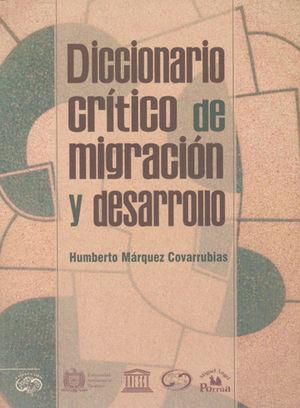DICCIONARIO CRÍTICO DE MIGRACIÓN Y DESARROLLO