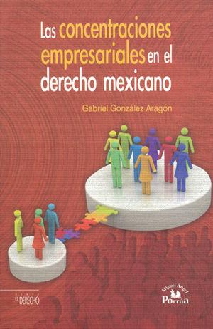 CONCENTRACIONES EMPRESARIALES EN EL DERECHO MEXICANO, LAS