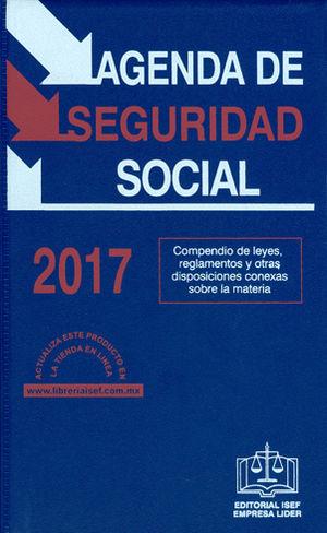 AGENDA DE SEGURIDAD SOCIAL 2017