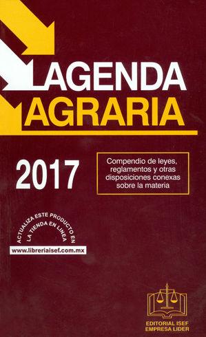 AGENDA AGRARIA 2017