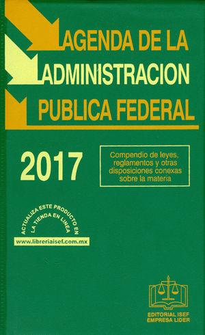 AGENDA DE LA ADMINISTRACION PUBLICA FEDERAL 2017