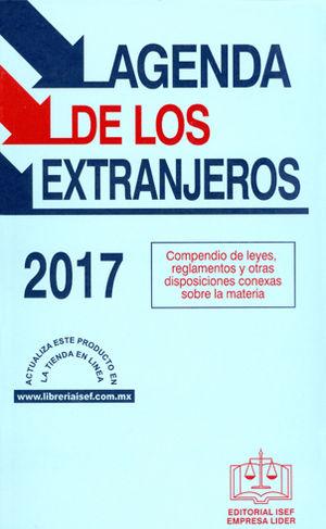 AGENDA DE LOS EXTRANJEROS 2017