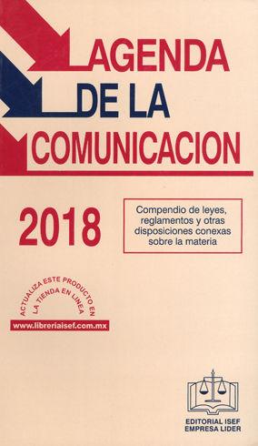 AGENDA DE LA COMUNICACIÓN 2018