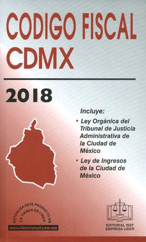 CÓDIGO FISCAL CDMX. 2018