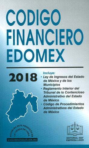 CÓDIGO FINANCIERO EDOMEX. 2018