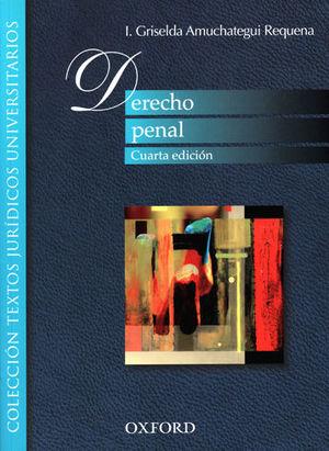 DERECHO PENAL (CUARTA EDICIÓN)
