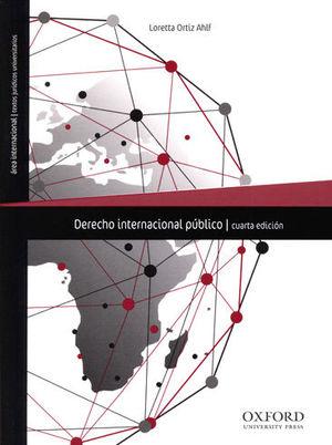 DERECHO INTERNACIONAL PÚBLICO. 4ª ED. 2018. 1ª REIMP. 2019