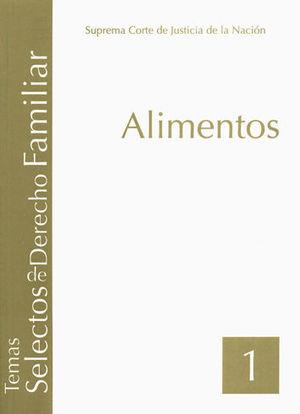 ALIMENTOS (TOMO 1)