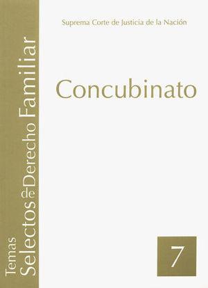CONCUBINATO (TOMO 7)