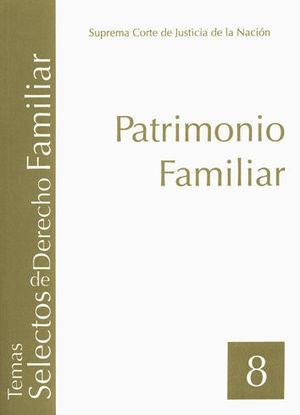 PATRIMONIO FAMILIAR (TOMO 8)
