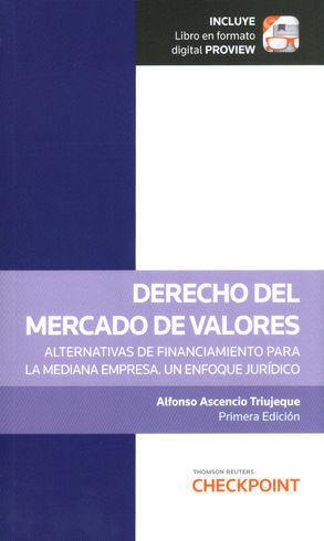 DERECHO DEL MERCADO DE VALORES