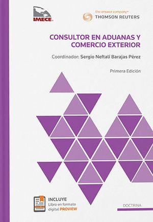 CONSULTOR EN ADUANAS Y COMERCIO EXTERIOR