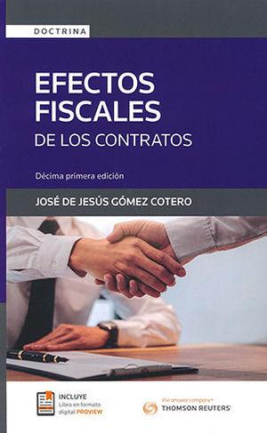 EFECTOS FISCALES DE LOS CONTRATOS 11.ª  ED 2020