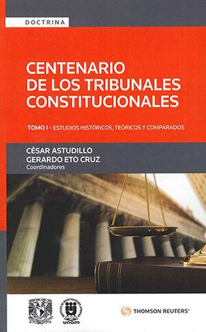 CENTENARIO DE LOS TRIBUNALES CONSTITUCIONALES - TOMO I