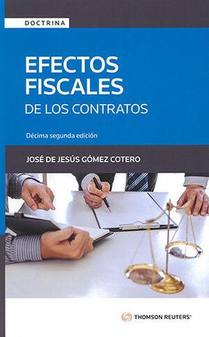 EFECTOS FISCALES DE LOS CONTRATOS - 12.ª ED. 2021